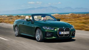 BMW's 2021 4 Series convertible trades folding hardtop for a soft top
