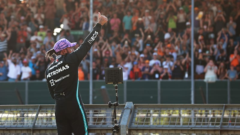 Lewis Hamilton takes top slot for the first F1 Sprint at Silverstone
